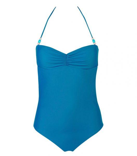BRM17-B-Azul, Bañador Bandeau, Bañador azul, Bañador bandeau azul oscuro, Bañador Barcelona, Bañador customizado, verano 2017