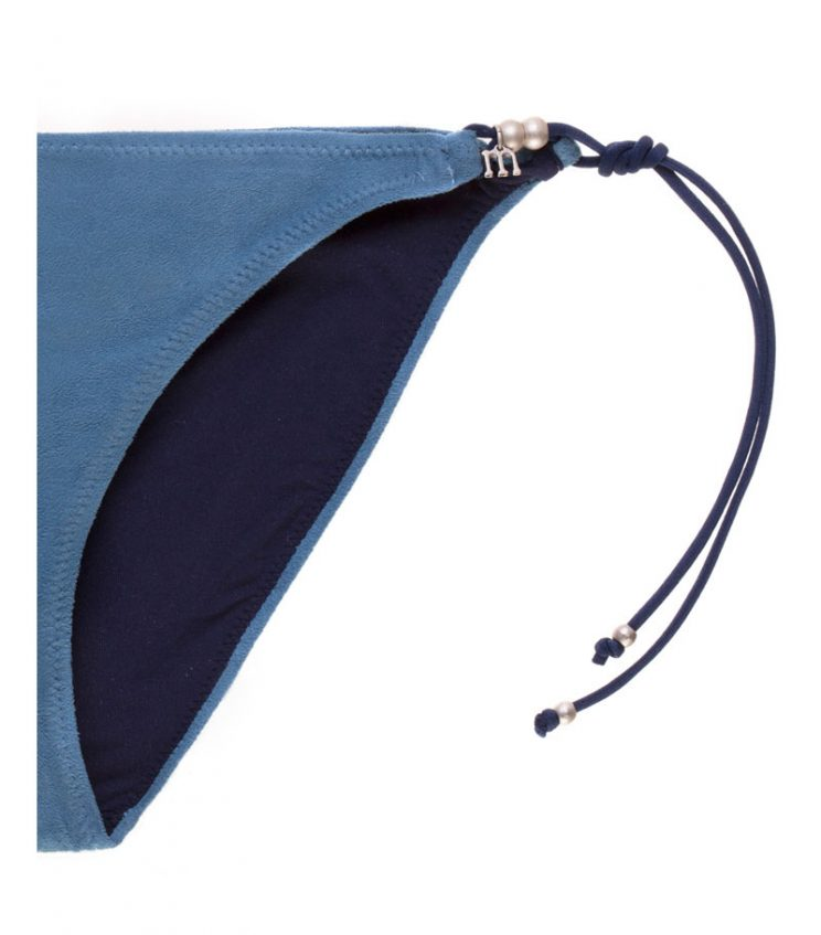 BKM17-A-Azul, Bikini triángulo, Bikini antelina azul, Bikini azul, Bikini Barcelona, Bikini customizado, verano 2017